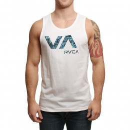 RVCA Tropic Doom Tank White
