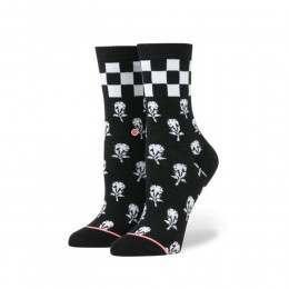 Stance Ladies Check It Socks Black