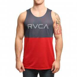 RVCA Dealer Basketball Tank Midnight