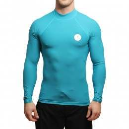 Billabong All Day Long Sleeve Rash Vest Blue