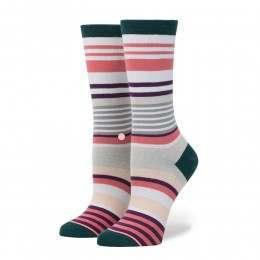 Stance Stripe Blossom Socks Pink