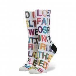 Stance Womens Love Letters X Libertine Socks Multi