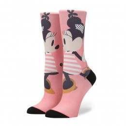 Stance X Disney Sassy Minnie Socks Pink
