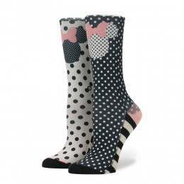 Stance X Disney Sprinkled Minnie Socks Black
