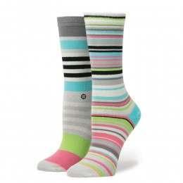 Stance Yachting Socks Grey