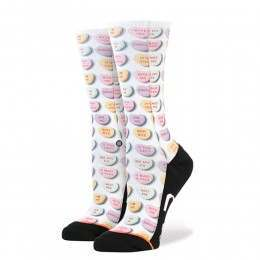 Stance Its You Socks White