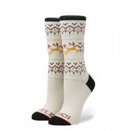 Stance Mistle Toes Socks Cream