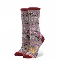 Stance Slay Ride Tomboy Socks Lilac Ice