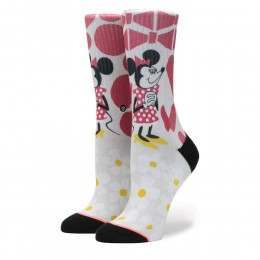 Stance X Dsiney Yusuke Minnnie Socks Off White