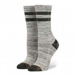 Stance Ladies Plain Jane Crew Socks Black