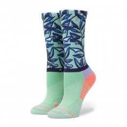 Stance Mint Tree Crew Fusion Socks Seafoam