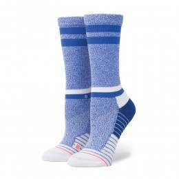 Stance Sky Static Crew Fusion Socks Blue