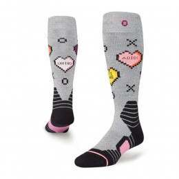 Stance Womens Candy Pro Model Snow Socks Grey