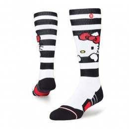 Stance Womens Hello X Hello Kitty Snow Socks White