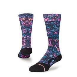Stance Womens Silky Snow Socks Black