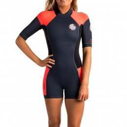 Ripcurl Dawn Patrol Spring Shorty Wetsuit Slate