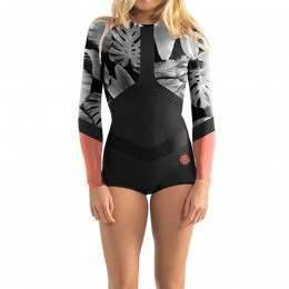 Ripcurl Madi Long Sleeve Boyleg Suit Coral 17