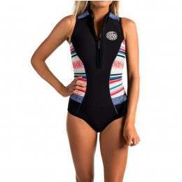 Ripcurl G Bomb Cap Sleeve Shorty Wetsuit Stripe