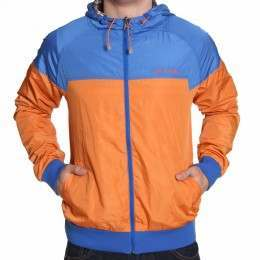 ANIMAL HUMBER REV SHELL JACKET Jaffa Orange