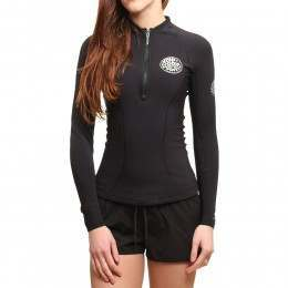 Ripcurl G Bomb Long Sleeve Wetsuit Top Black