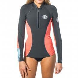Ripcurl G Bomb Neoprene Wetsuit Jacket 2017 Coral
