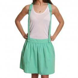 ROXY PANDORAS SKIRT WITH BRACES Kelly Green