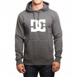 DC Star PH Hoody Charcoal Heather/White