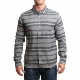 Element Pollock L/S Shirt Smoke Grey