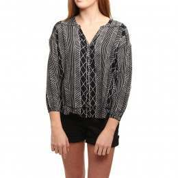 Amuse Society Spellbound L/S Top Black Sands