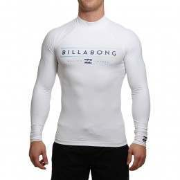 Billabong Unity Long Sleeve Rash Vest White