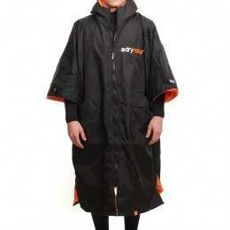 DRYROBE ADVANCE OUTDOOR CHANGING ROBE Blak/Orange