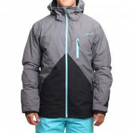 Quiksilver Mission Block Snow Jacket Shade
