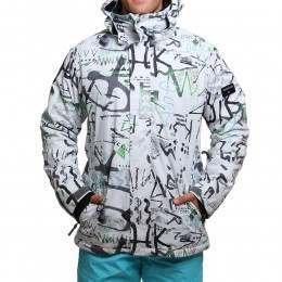 Quiksilver Mission Printed Snow Jacket White