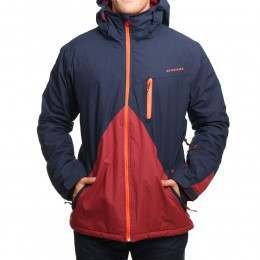 Quiksilver Mission Block Snow Jacket Navy