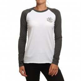 Element Sport Long Sleeve Top White