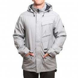 Volcom Mails Insulated Snow Jacket Grey