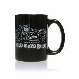 Old Guys Rule Triumph Mug Black