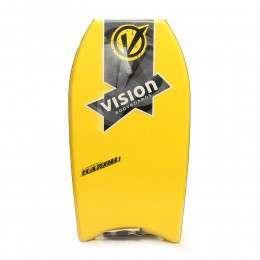 VISION RAZOR BODYBOARD 42 INCH Yellow/Black/Blue