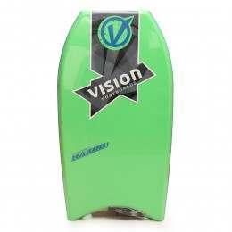 VISION RAZOR BODYBOARD 36 INCH Green/Blue/Blue
