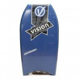VISION RAZOR BODYBOARD 36 INCH Blue/Green/Blue