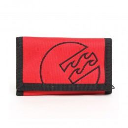 BILLABONG CORPORAL SURF TRIP WALLET Red