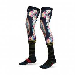 Stance Moto La Madre Knee Brace Socks Black