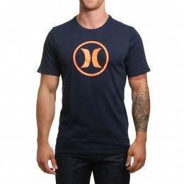 Hurley Circle Icon Dri-Fit Tee Obsidian