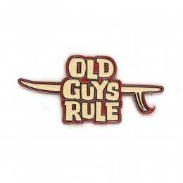 OLD GUYS RULE MAGNETIC BOTTLE OPENER Longboard