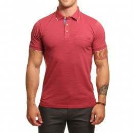 Oxbow Pentam Polo Shirt Framboise