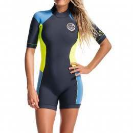 Ripcurl Dawn Patrol Spring Shorty Wetsuit Blue