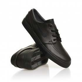 Nike SB Stefan Janoski Shoes (Leather) Black