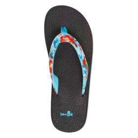 Sanuk Yoga Meta Sandals Aqua Waikiki