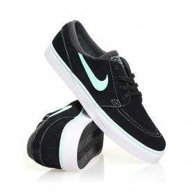 Nike SB Stefan Janoski Shoes Black/Green