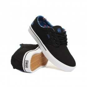 Etnies Ladies Jameson 2 Shoes Black/Blue/Black